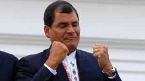 President Rafael Correa. From theguardian.com