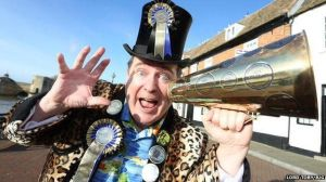 Eccentric Party's Leader Lord Toby Jug. From cambridge-news.co.uk