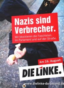 Ökologische Plattform NRW Follow Nazis blocken , DIE LINKE. Dortmund
