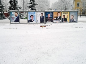 Election posters, Finland