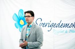 Jimmie Åkesson, Sverigedemokraterna party leader