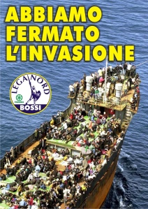 Lega Nord _ Abbiamo fermato l'inavsione (We stopped the invasion)