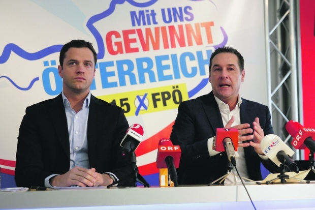 strache and gudenus