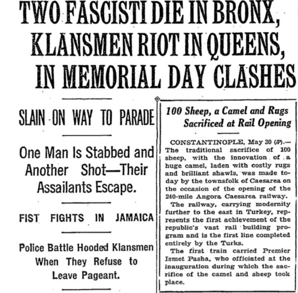 2 fascisti die in bronx